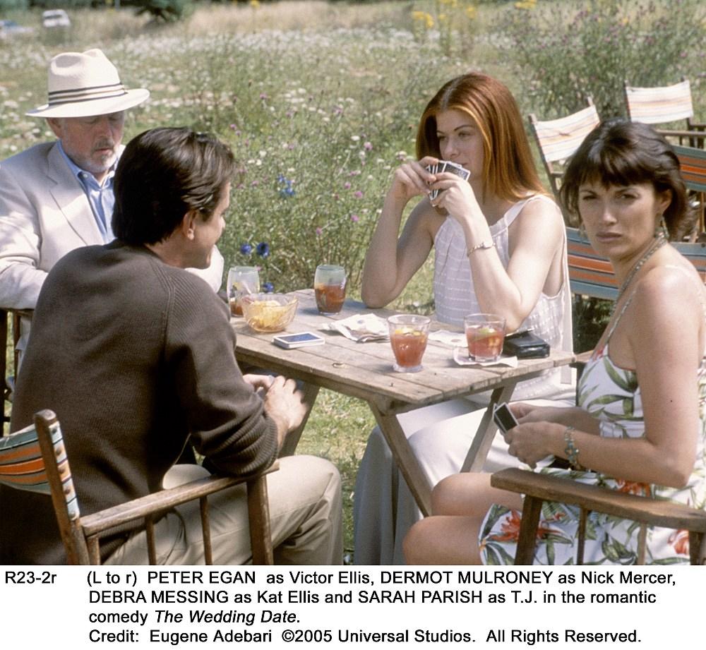Monday Movie Inspiration :: The Wedding Date
