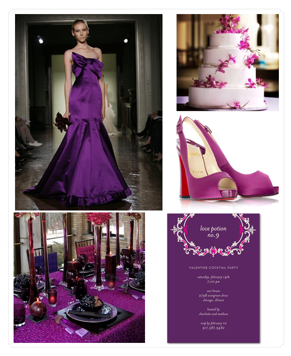 Wedding Paper Divas: Week Of Color :: Passion Purple