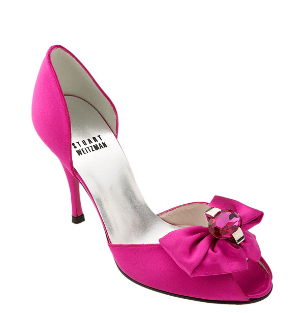 hot pink shoes. Week of Color :: Shocking Pink