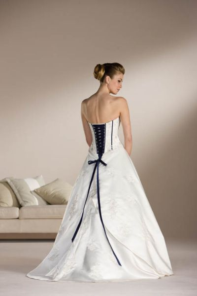 the white wedding dress. 2011
