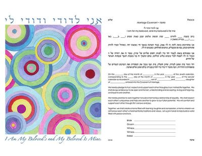 design_abstract-circles-fuschia-ketubah_1_lg