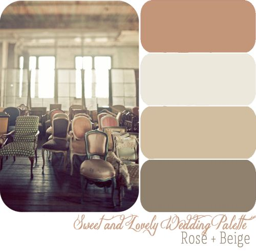 Beige Wedding Sweetandlovelylife