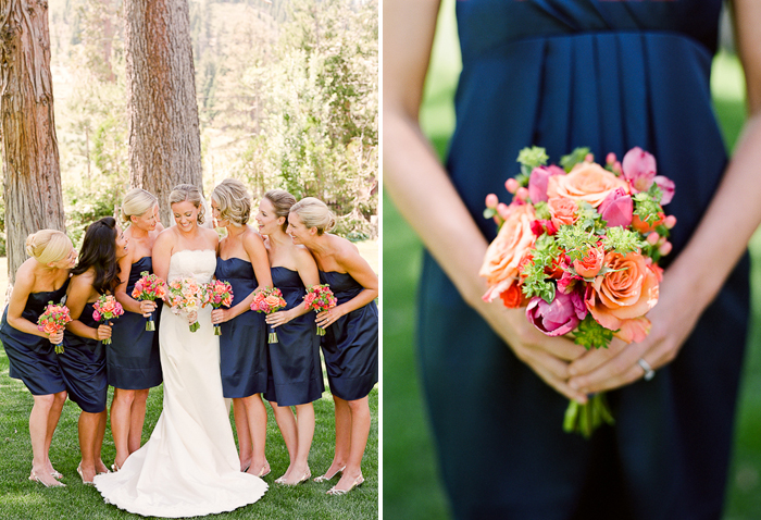 Navy And Coral Wedding Colors: Week Of Color :: Khaki + Navy