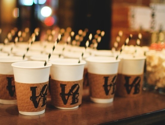 How To Host A Coffee Bar At Your Wedding Bubbly Bride